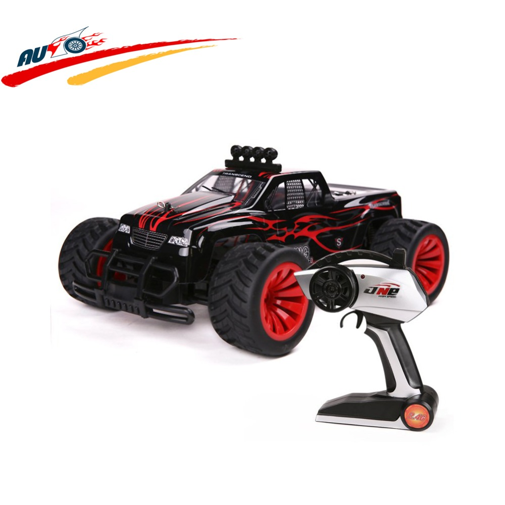 RC Car 2.4G 1/16 High Speed Car Monster Truck Radio Control Buggy RC Bigfoot Racing Car kids Toy