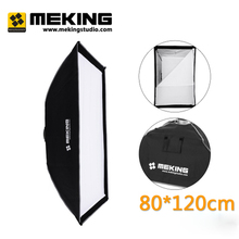 80cm x 120cm  32″ x 48″ photographic Foldable Softbox Diffuser with Bowens Mount for with carrying bag for Flash Speedlight