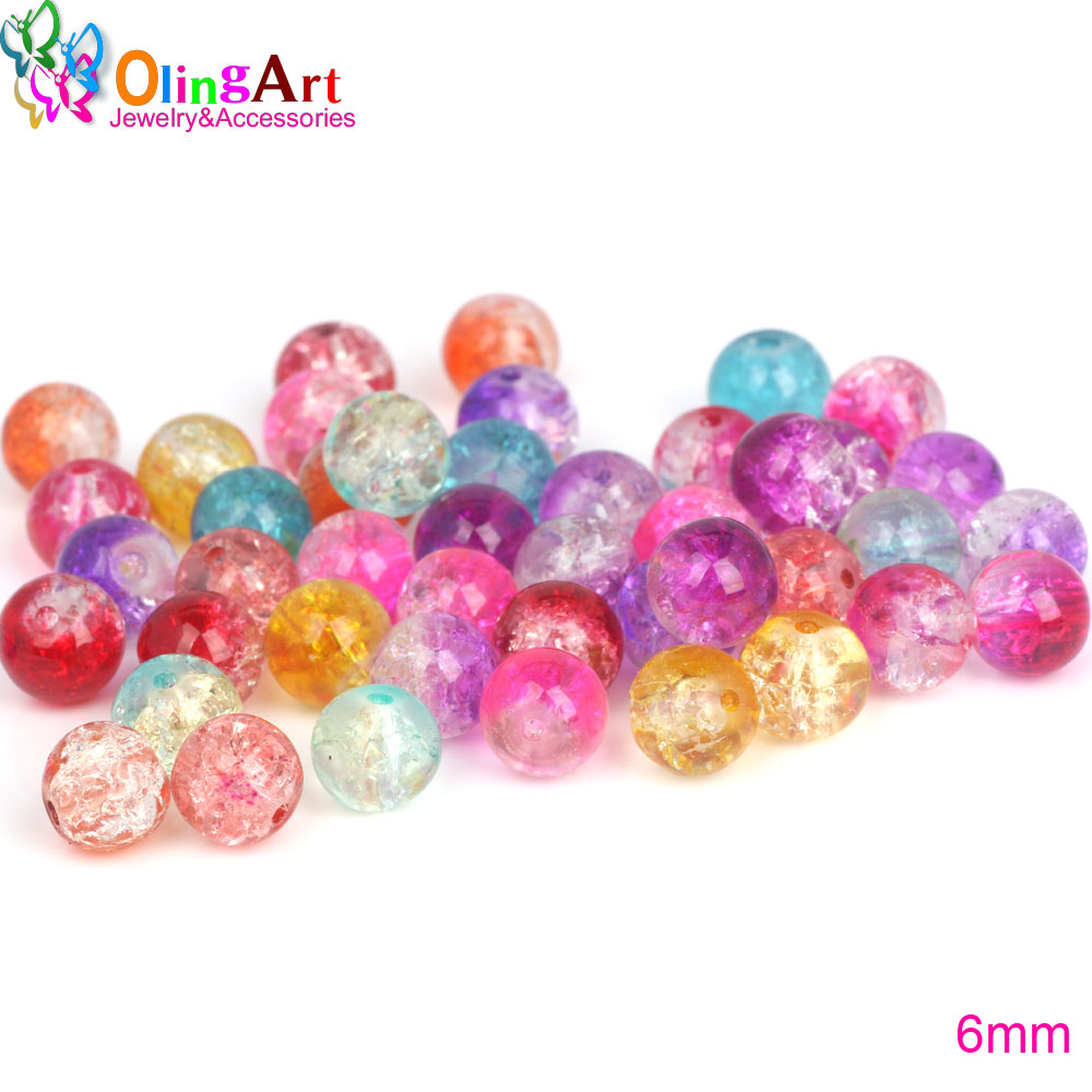 100pcs gelée violet perles acrylique rond 10mm