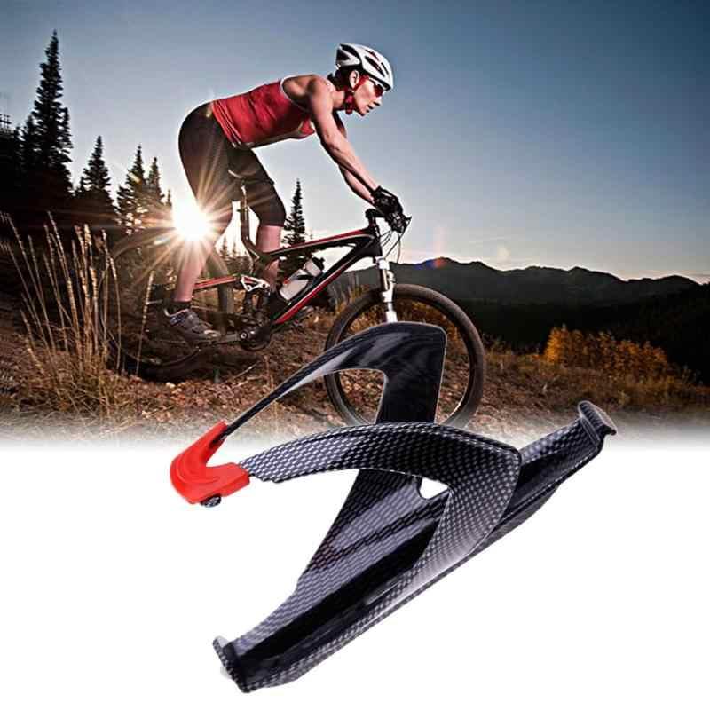 קל משקל סיבי פחמן כביש אופניים בקבוק מחזיק MTB/כביש רכיבה על אופניים בקבוק מים מחזיק קייג 'Rack אופניים אביזרי מכירה לוהטת