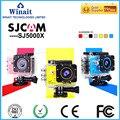 Original sj5000x HD câmera com 2.0 ''Display TFT 4 k wifi actina/170 degree wide angle/max 12mp câmera de esportes shiping livre