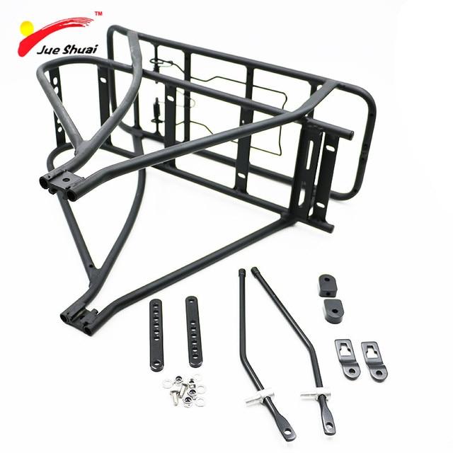Black 26inch 28inch 700c Bike Luggage Rack Double Layer Bicycle