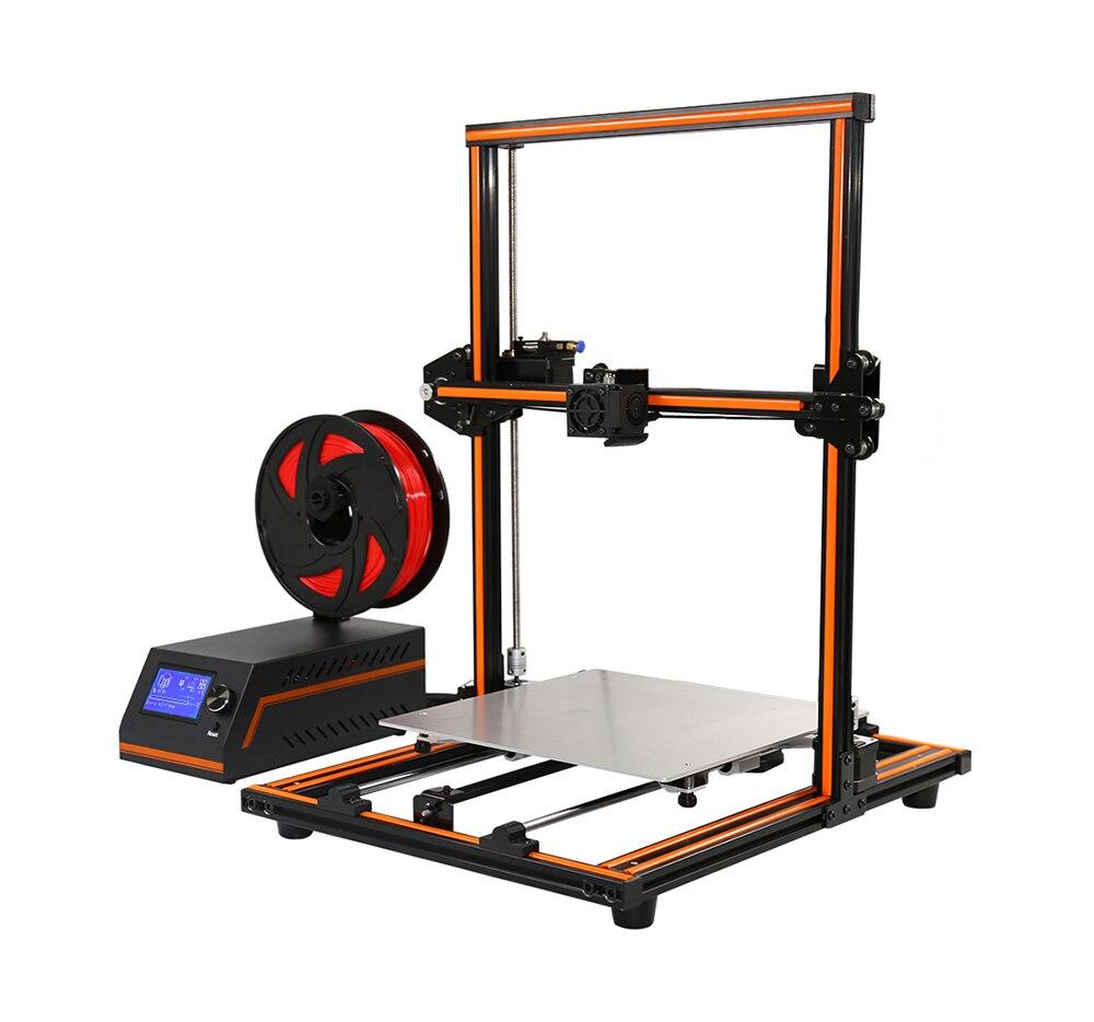 Anet E12 3D Imprimante Haute Précision DIY Kit En Alliage D'aluminium L'assemblée Creality Imprimante 0.4mm Buse Reprap En Alliage D'aluminium