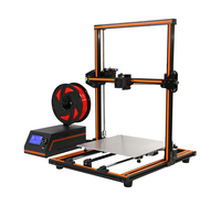 Anet E12 3D Printer High Precision DIY Kit Aluminum Alloy Assembly Creality Printer 0.4mm Nozzle Reprap Aluminium Alloy