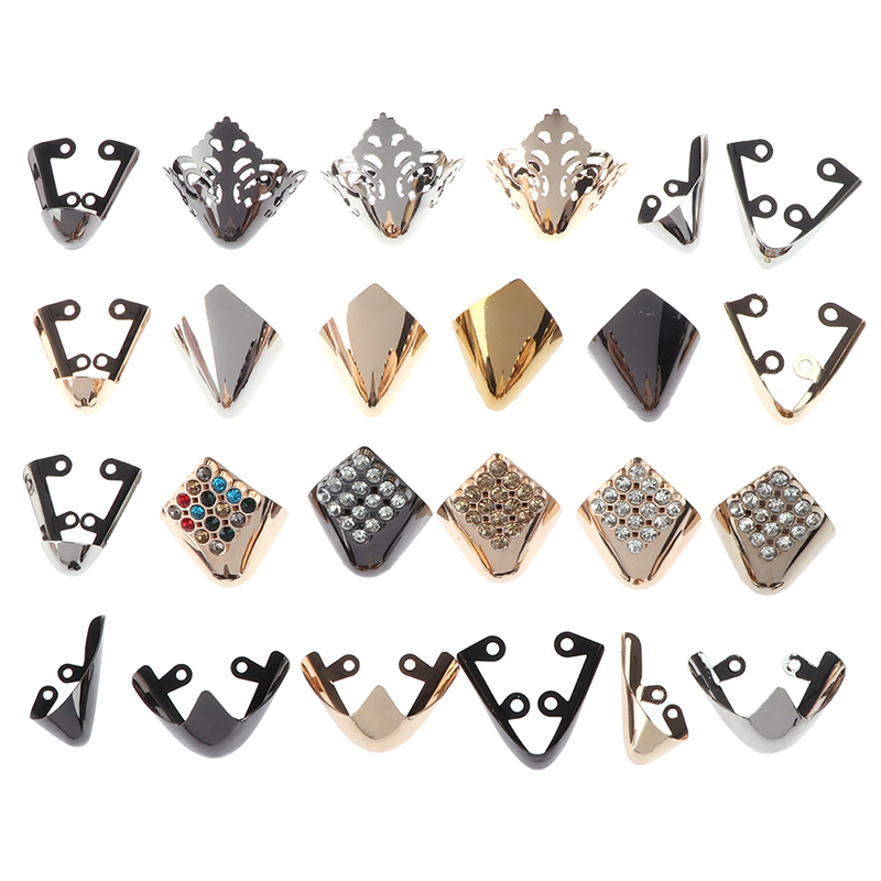 1Pair Shoes Toe Protection Metal Material Shoes Clips For Decorations High Heels Shoe Broken Reapair Accessories