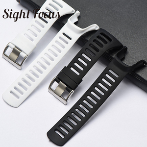 Image 4 - SIGHT FOCUS Sports Rubber Silicone Strap For SUUNTO Ambit 1 2 3 2R 2S Ambit 3 Peak Watchbands 36mm Watch Band Buckle Wrist Strap