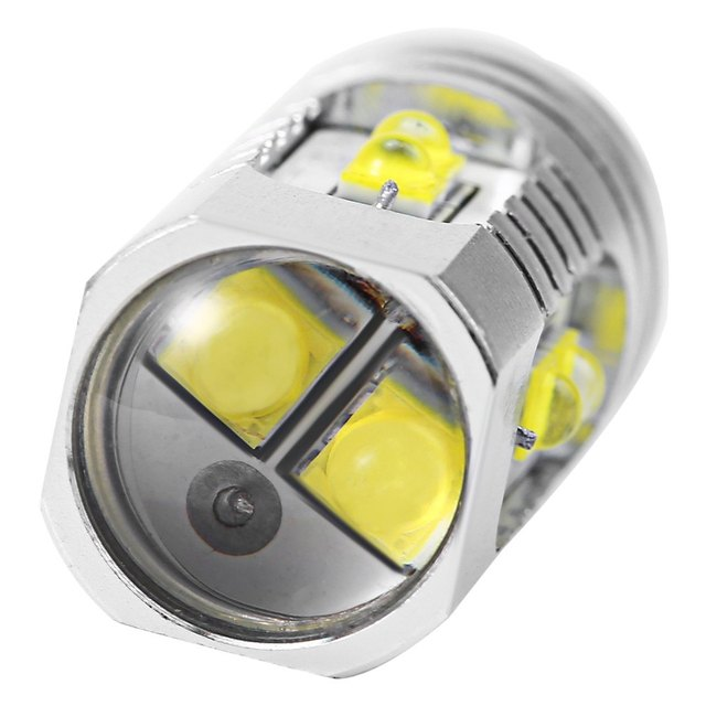 High Power Car LED Fog Brake Turn Signal Driving Lighting Fog Light Led Fog Lamp Bulb High Quality for Vehicle 1Pcs T10 50W