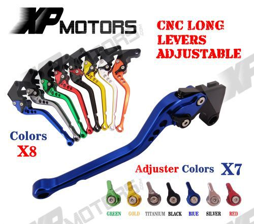 Adjustable CNC Long Brake Clutch Levers For Yamaha YZF R6 2005 06 07 08 09 2010 11 12 13 2014 YZF R1 2004 2005 2006 07 2008 R6S motofans cnc clutch brake levers adjuster for moto guzzi stelvio 2008 2015 norge 1200 gt8v griso 06 07 08 09 10 11 12 13 14 15