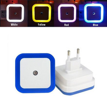 Hot Sale Luminaria US Plug Novelty Nightlights LED Night Light Lamp Light Sensor Controlled Baby Home Bedroom Decoration