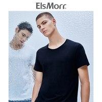 ElsMorr Для мужчин жилет лед чувство Dehumidificat хлопок шею нижнее белье Спортивный жилет плечо нижняя мужской жилет летние майки