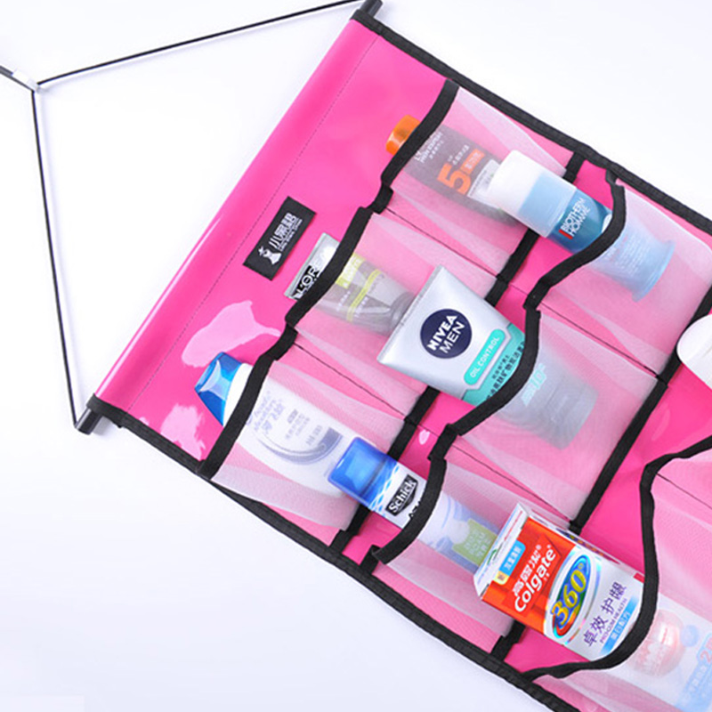 Bathroom Storage Shower Caddy Toiletry Hanging Organizer Waterproof ...