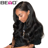 360 Lace Frontal Wig 150% Density Brazilian Body Wave Lace Wig For Women Remy Lace Front Human Hair Wigs With Baby Hair Beyo