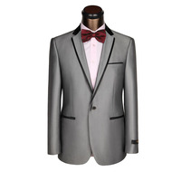 Len phù hợp với new tiệc đàn ông ăn mặc groom người đàn ông tốt nhất phù hợp với một thư mục khóa màu đen cạnh cổ áo váy cưới kinh doanh phù hợp với tùy chỉnh