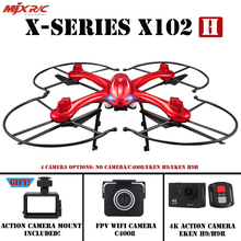 MJX X102H drone RC Quadcopter With 4K/1080P Camera HD Carry Gopro/Sjcam/Xiaomi yi/Eken H9