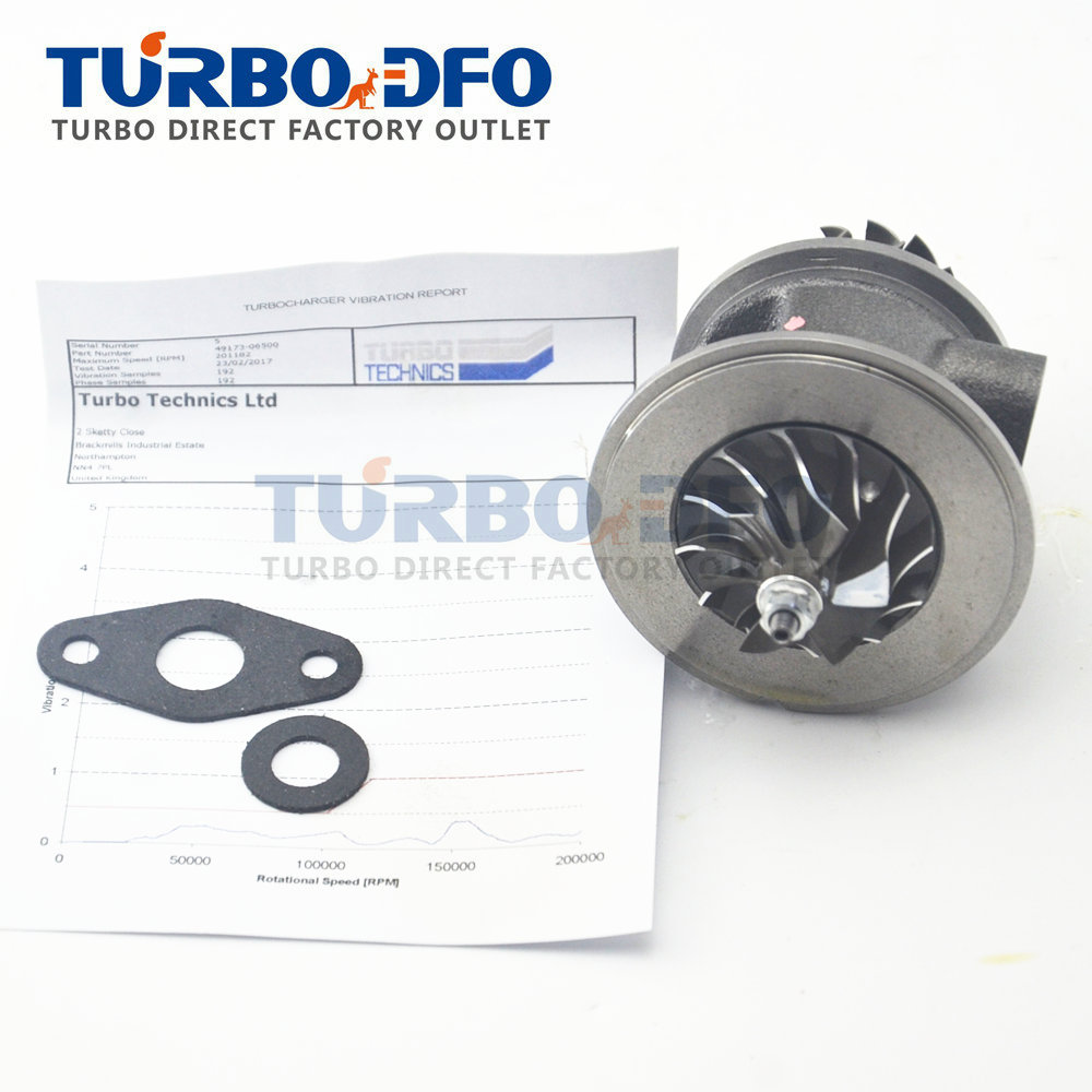 Turbo charger TD02 turbine cartridge core CHRA Opel Astra G Astra H Combo C Corsa C 1.7 CDTI Y17DTL 2000-2004 49173-06501 860036 td03l 49131 06007 variable vain nozzle ring turbolader vnt 93169104 97300092 98102364 for opel corsa c 1 7 cdti 100 hp z17dth