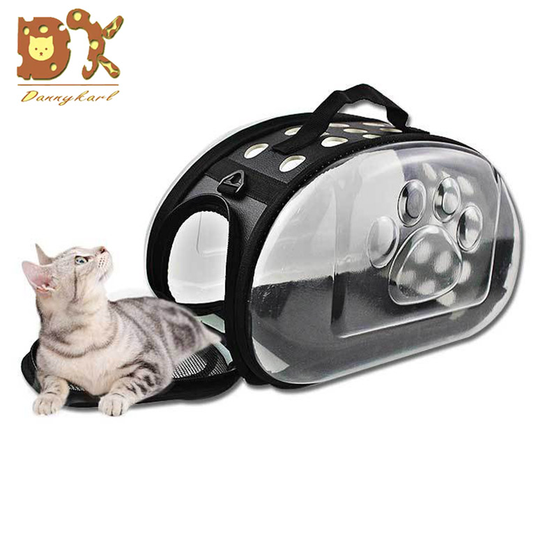 2019 New Cat Carrier Bag Outdoor Dog Foldable EVA Pet Kennel Puppy Travel Shoulder for Small