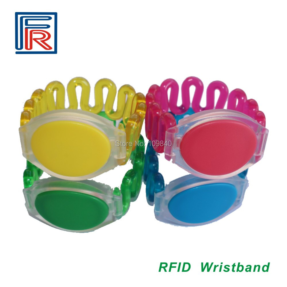 100pcs RFID Resort Hotel sauna wristband for swimming pool 13.56MHz Rewritable bracelet mediterranean resort 4 паралия катерини пиерия