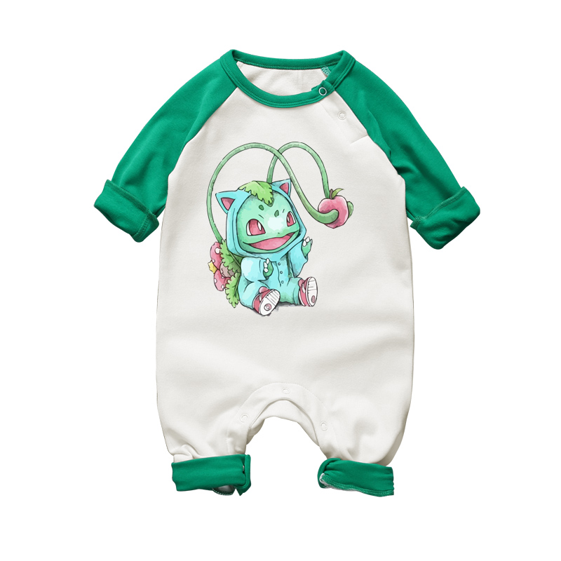 2017 Gullig AnimeNewborn Baby Romper Barn Spädbarn Barn Barn Boys Cartoon Rompers Overaller Baby Boy Girl Romper Jumpsuit Romper