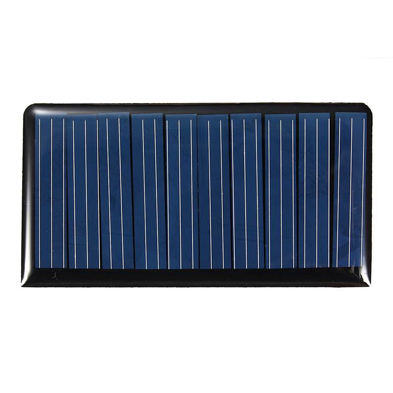 Mising 68*37*3mm 5V 0.3W 60mA DIY Mini Solar Epoxy Resin Plate Solar Cell Battery Solar Panel Power Charger Led Solar Light Lamp