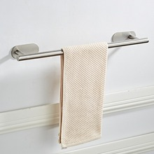 SRJ 304 Stainless Steel 40cm/50CM Bath Towel Holder Bathroom Kitchen Wall-mounted Polished Rack Hardware Accessory