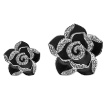 2pcs Car Perfume Air Freshener Clip Diamond Flower Car Air Vent Perfume Air Conditioner Car Freshener Solid Fragrance