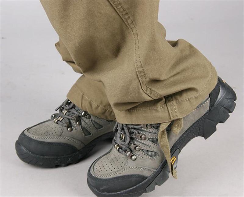 HTB1AXKBatjvK1RjSspiq6AEqXXaY Men's Cargo Pants Mens Casual Multi Pockets Military Large size 44 Tactical Pants Men Outwear Army Straight slacks Long Trousers