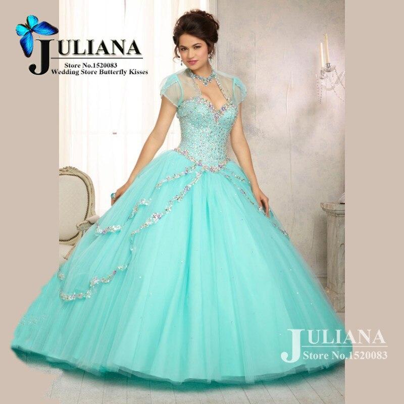 Aliexpress.com : Buy 2015 Cheap Quinceanera Gowns Sweet 16 Dresses ...