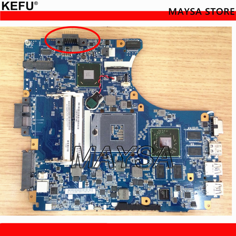 KEFU A1848525A 1P-0113200-8011 MBX-240 Fit For VAIO VPC-CA laptop motherboard HM65 DDR3 tested цена