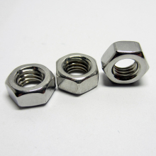 100pcs/lot Metric thread DIN934 M1.6 M2 M2.5 M3 M3.5 M4 M5 304 Stainless Steel Hex Nuts