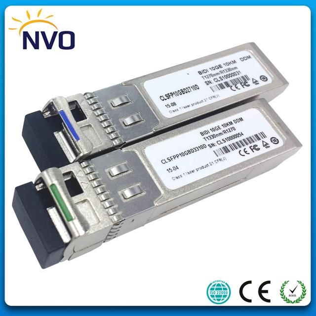 US $174 9 |Free Shipping 10Gb/s BIDI SFP+ 10km Fiber Optic Transceiver,10G  BIDI SFP+ LR Optical Module,Cisco Compatible-in Fiber Optic Equipments from