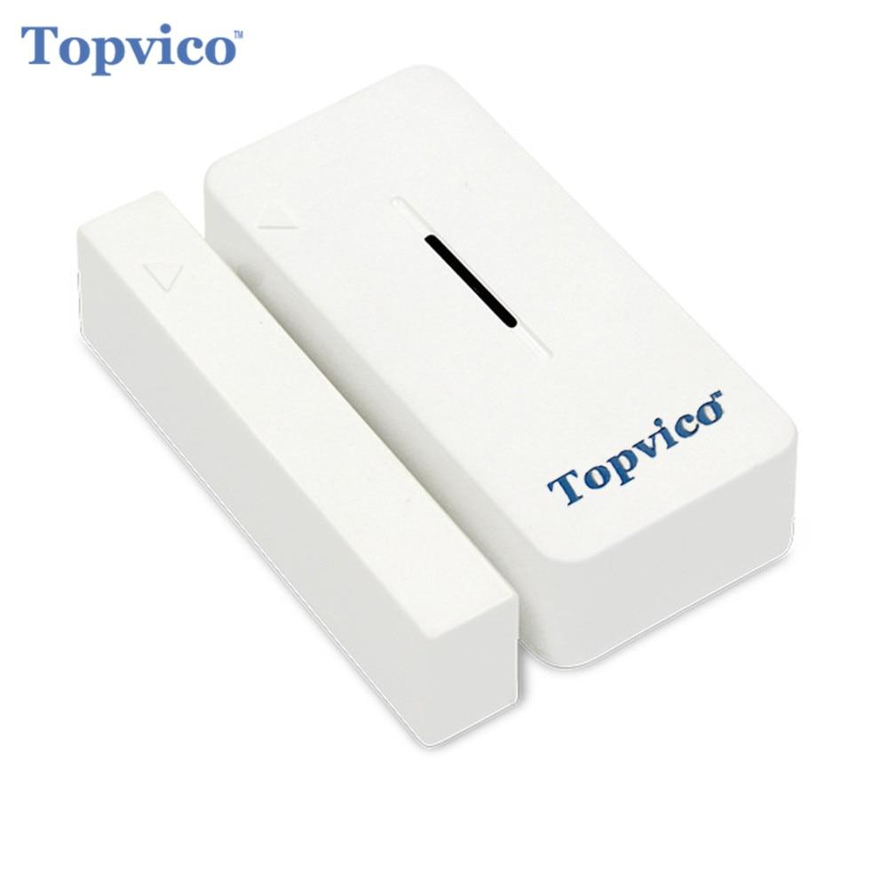 Topvico z-wave Porte Capteur D'alarme Détecteur Z-Vague Plus Smart Domotique Sans Fil Maison Sécurité Système D'alarme sécurité