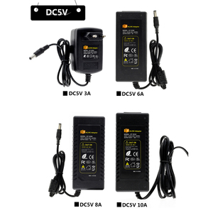 Image 2 - DC5V 12V 24V LED Power Supply AC100 240V Adapter Converter Charger 1A 2A 3A 5A 6A 8A 10A Lighting Transformers for LED Strip
