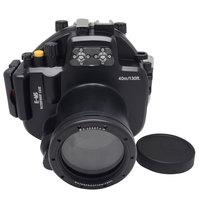Mcoplus Underwater Housing Camera Case À Prova D' Água até 40 m/130ft para Olympus E-M5 EM5 12-50mm lens