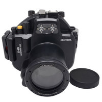 Mcoplus Underwater Housing Camera Case Waterproof to 40m/130ft for Olympus E M5 EM5 12 50mm lens