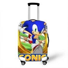 18-32 дюймов Sonic Boom Hedgehogs Марио Эластичный Защитный чехол на чемодан защита от пыли Чехол мультяшный чехол для путешествий