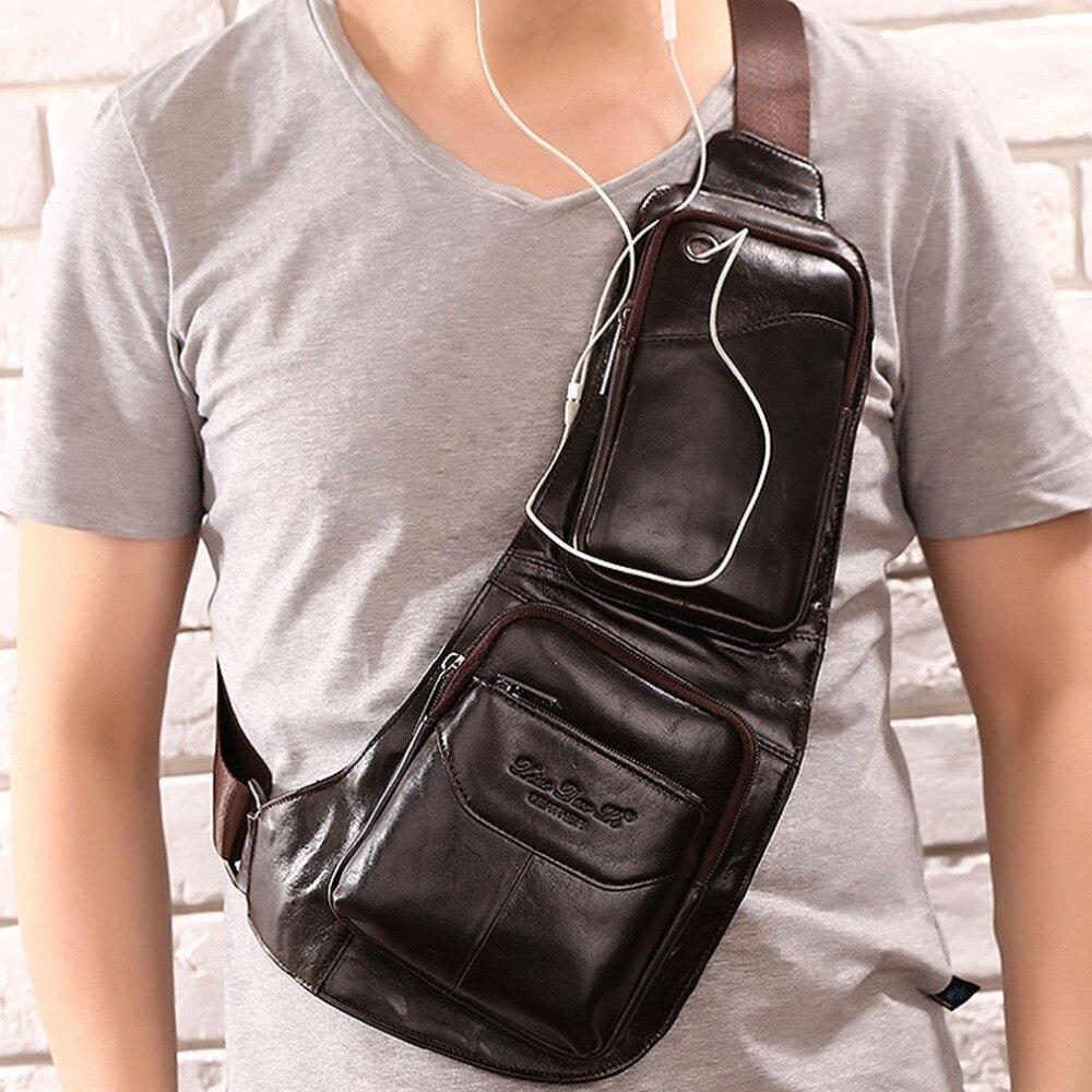 2018-men's-vintage-genuine-leather-travel-riding-messenger-shoulder-sling-chest-casual-bag