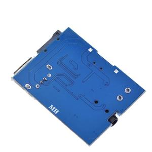 Image 4 - TZT Mp3 nondestructive decoder board Built in amplifier mp3 module mp3 decoder TF card U disk decoding player