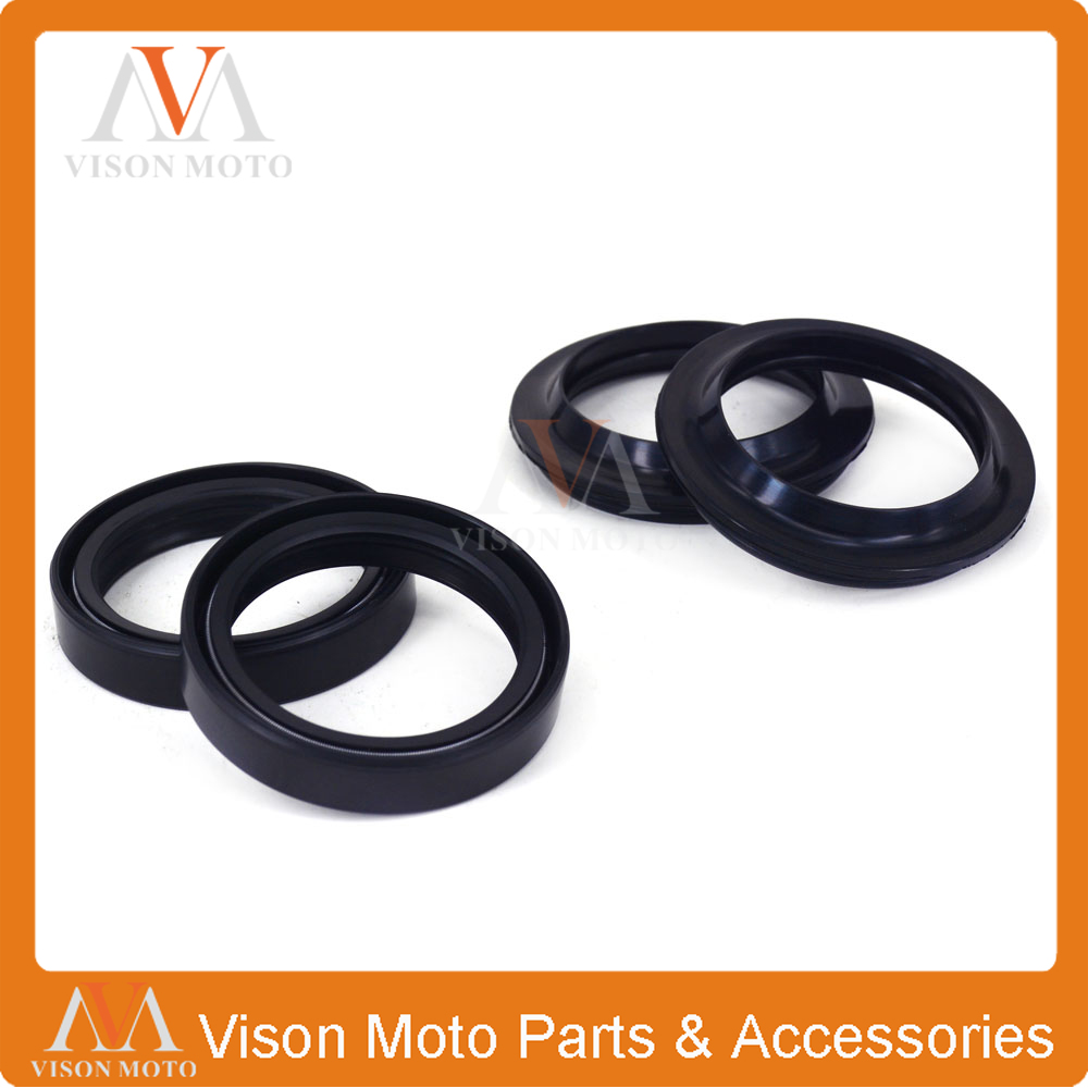 Front Shock Absorber Fork Damper Oil Seal For YAMAHA WR400F WRF400 YZF400 YZ400F YZ426F YZF426 WR426F WR450F WRF450 YZ450F front shock absorber fork damper oil seal for kawasaki zx600 ninja zx6 90 01 zx 6rr zzr 600 zx636 zx6r kle650 versys motorcycle