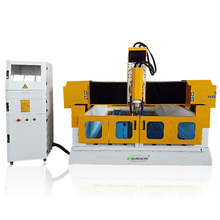 China 3 Axis 3D Stone Carving Engraving Cutter Flame CNC Router Machine Sculptur