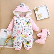 BibiCola bebé caliente mamelucos ropa bebé recién nacido invierno grueso  mono de manga larga Bebe mono de dibujos animados bebé . 79a0c36bf14a