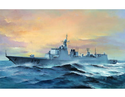 Assemble Trumpeter Model 04530 China 052 Type 170 Missile Destroyer Model Kits