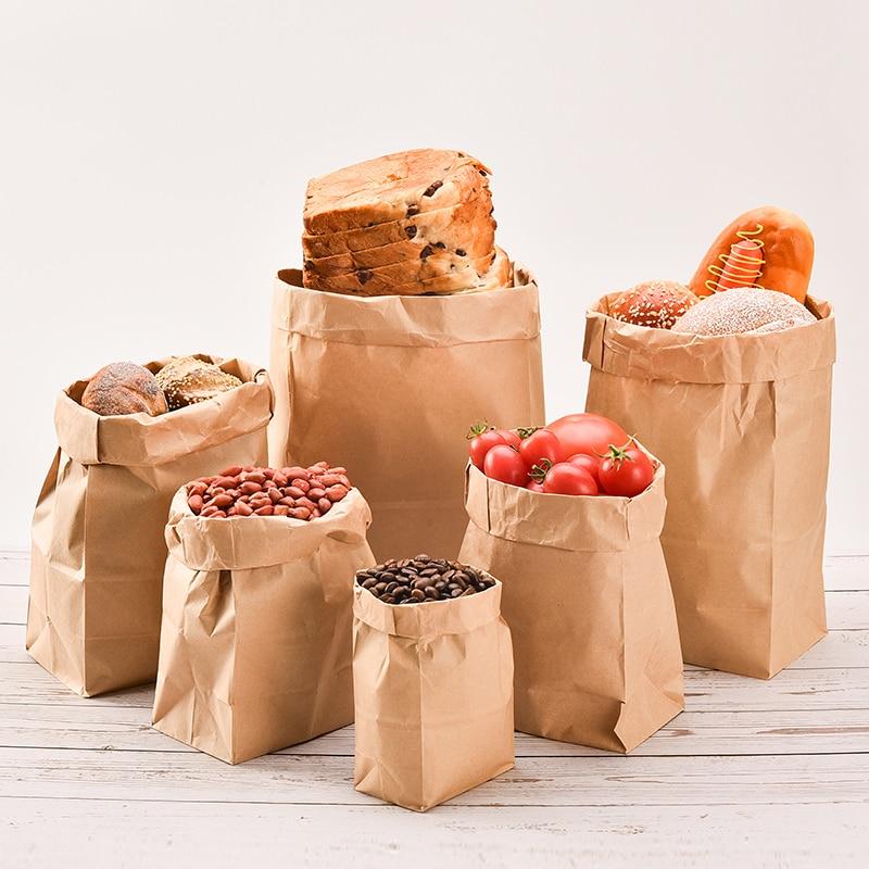 Giemza Kraft Paper Bags No Handles Gift
