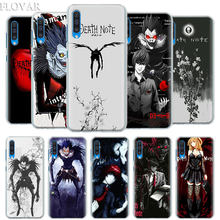 Death Note funda para Samsung Galaxy A30 A40 A50 A70 A6 A8 Plus A7 A9 2018 M30 funda de teléfono Coque(China)