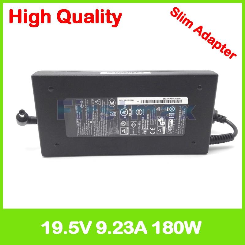 Slim ac adapter 19.5V 9.23A 19V 9.5A laptop charger for Gigabyte Aero 15X v8 P25W v2 v5 P25X v2 P35W v2 v5 P35X v3 v4 P37W v4 v5