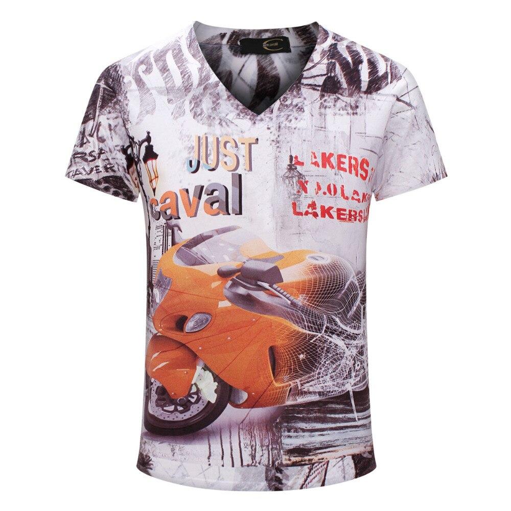 2015 New Arrival Men <font><b>t</b></font> <font><b>shirt</b></font> <font><b>Short</b></font> <font><b>Sleeve</b></font> <font><b>V</b></font> <font><b>Neck</b></font> Summer Men tshirt mens Casual Top Tees High Quality <font><b>motorcycle</b></font> Pattern Fashion