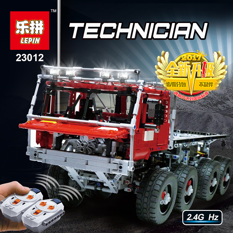 LEPIN 23012 2839Pcs Technic Series  Arakawa Moc Tow Truck Tatra Model Assembly Building Blocks set Bricks children For Toys 813 new lepin 23012 2839pcs genuine technic series the arakawa moc tow truck tatra 813 educational building blocks bricks toys gift