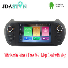 JDASTON 1 DIN Android 6.zero Automotive DVD Participant For Fiat Fiorino Citroen Nemo Peugeot Bipper eight Core 2GB Multimedia GPS Navigation Radio