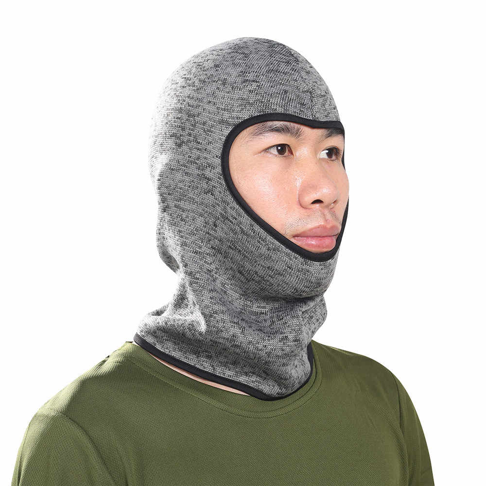 Hot Sale Winter Windbreak Pattern Face Mask Outdoor Sport Motorcycle Bicycle Football Solid Masks