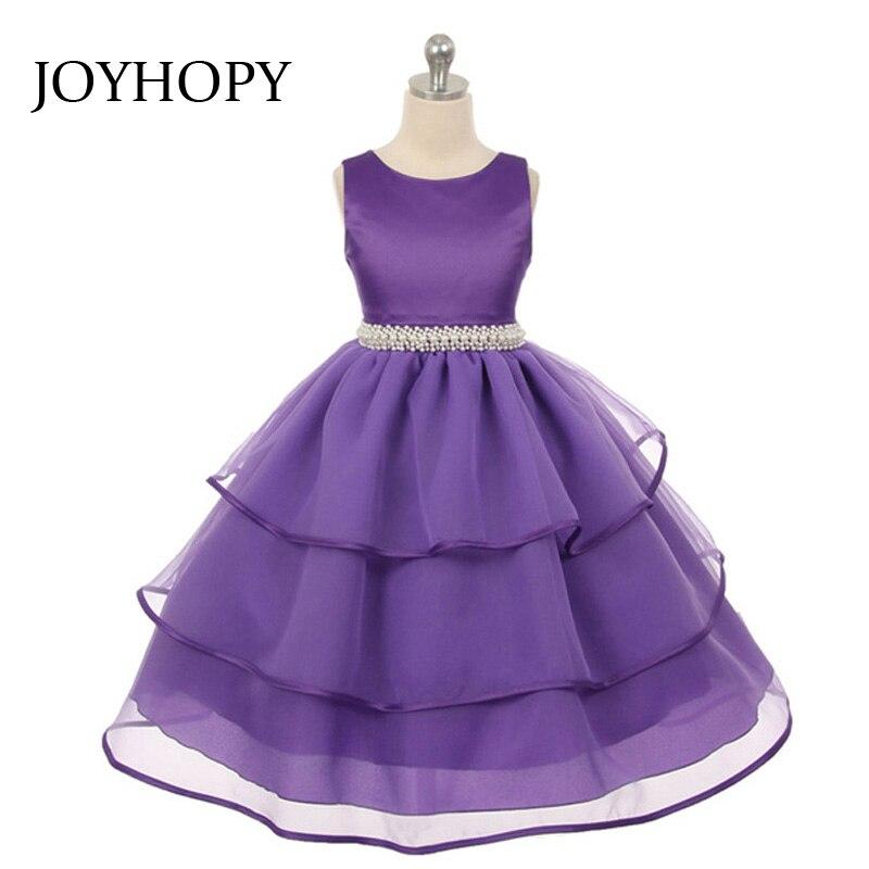 Calidad de imitación de diamante perla Flor del partido del vestido ...