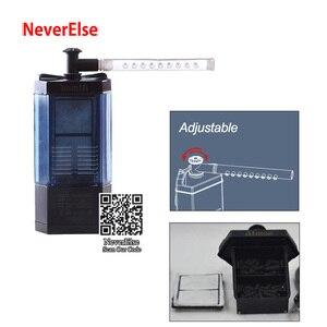 Image 3 - Akvaryum köşe filtre pompası sprey Bar akış kontrol temiz su 2.5W dalgıç küçük Nano balık kaplumbağa tankı ekleyin hava/oksijen